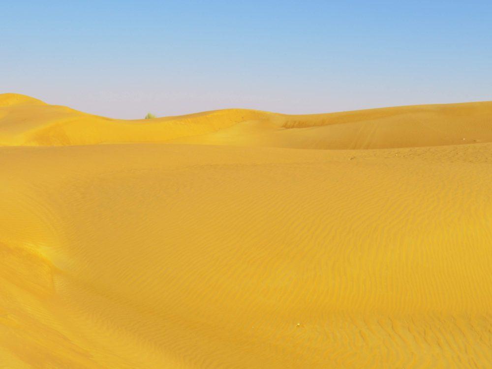 ドバイ砂漠ツアー